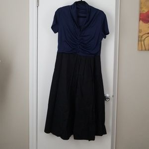 Lindy Bop vintage retro inspired dress XL